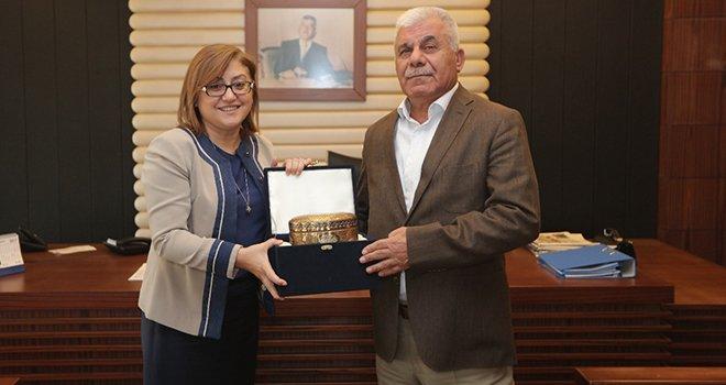 Şahin'den Kadooğlu Holding'e 'Gümkart' teşekkürü