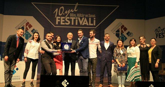 Kalyoncu Üniversitesinin 10. yıl Bilim Kültür ve Sanat Festivaline büyük ilgi