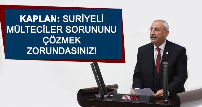 Kaplan: Erdoğan'ın kardeşi Esad oldu düşmanı Esed!
