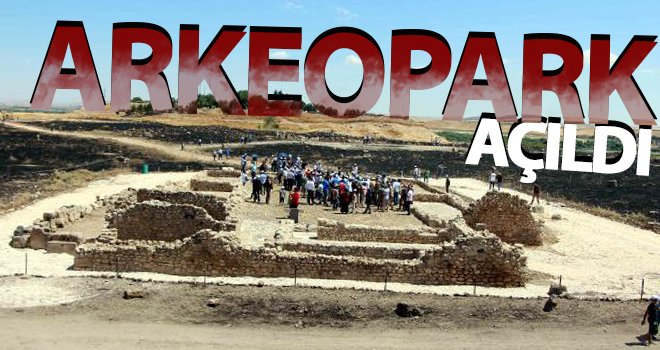 Karkamış Antik Kenti 'Arkeopark' ziyarete açıldı