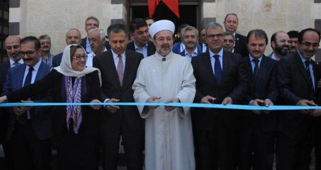 Kaynak ve Görmez'den Gaziantep'te cami açılışı
