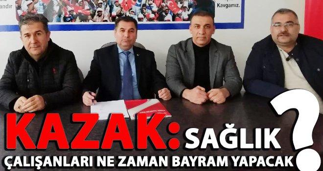 Kazak: Tıp Bayramını, bayram tadında karşılamaya hasret kaldık