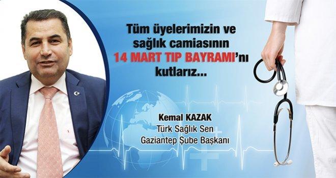 Kemal Kazak, 14 Mart Tıp Bayramı