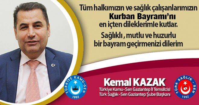 Kemal Kazak Kurban Bayramı