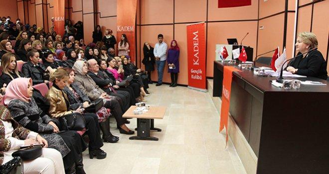 Kezban Hatemi ile Kadın ve Adalet Söyleşisi Yapıldı