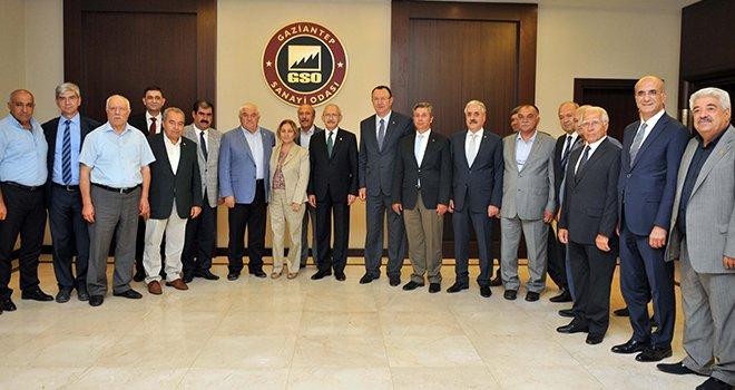 Kılıçdaroğlu GSO'yu ziyaret etti