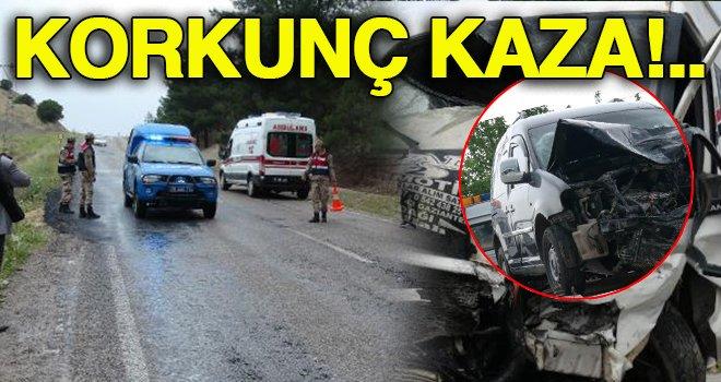Kilis'te feci kaza: 12 yaralı
