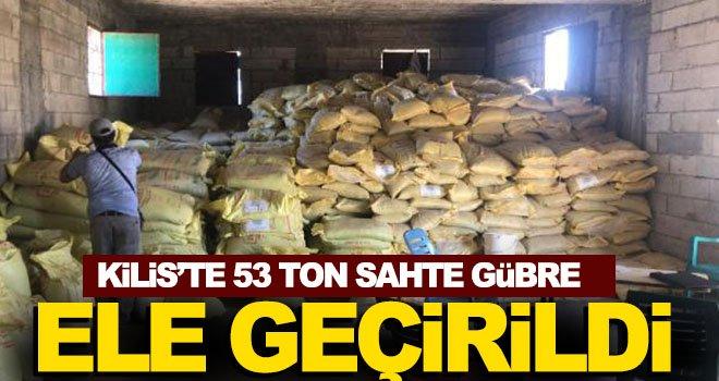 Kilis'te sahte gübre operasyonu: 2 gözaltı