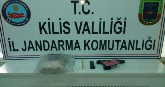 Kilis'te, uyuşturucu operasyonuna 2 tutuklama