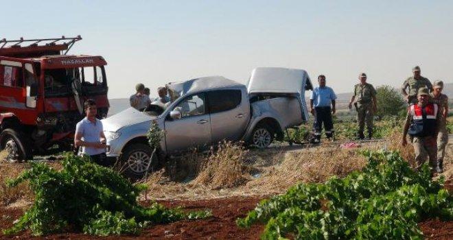 Kilis'teki kazada şehit sayısı 2'ye yükseldi