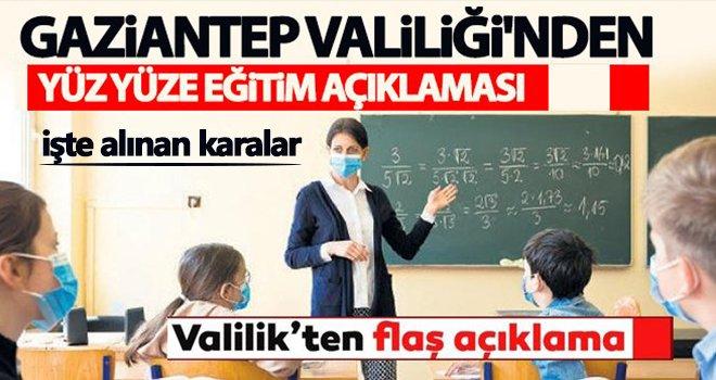 Kırmızı kategorideki Gaziantep'in eğitim durumu açıklandı!