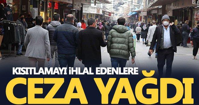 Kısıtlamayı ihlal eden 228 kişiye ceza