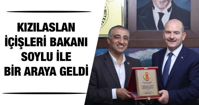 Kızılaslan Bakan Soylu'ya yerel basının sorunlarını iletti