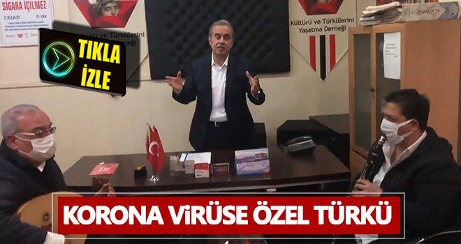 Korona virüse özel türkü