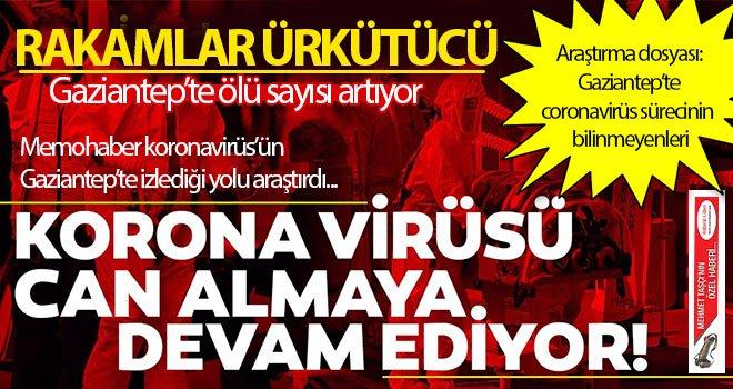 Korona virüsü Gaziantep'te kaç kişinin canını aldı?