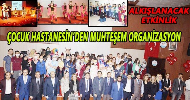 Lösemili çocuklar haftasında Gaziantep'te muhteşem organizasyon