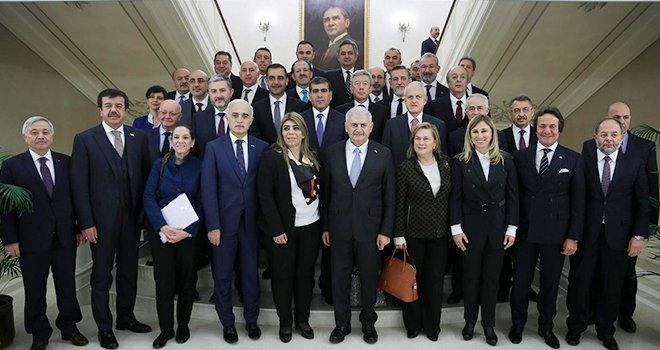 Mahsum Altunkaya Başbakan Yıldırım'la görüştü