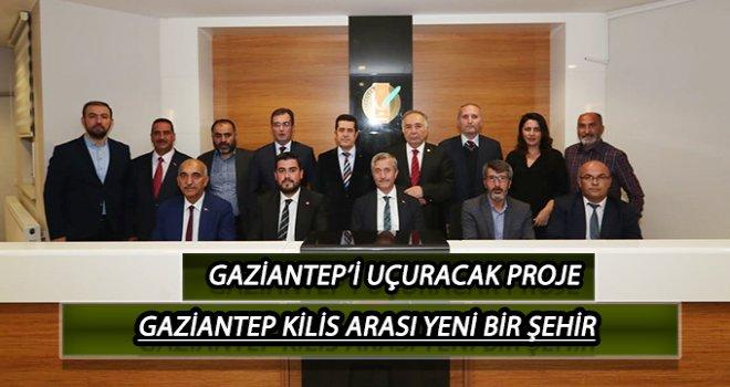 Gaziantep'i uçuracak proje...