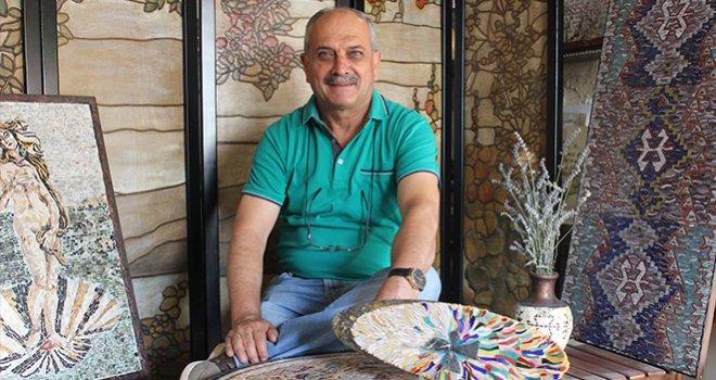 Mehmet Yılmaz 3'ncü Mozaik Sergisini Sanko'da açacak
