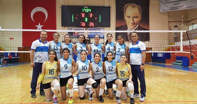 Merinosspor voleybol takımı Türkiye finallerinde