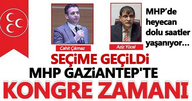 MHP Gaziantep il başkanlığı kongresi devam ediyor…