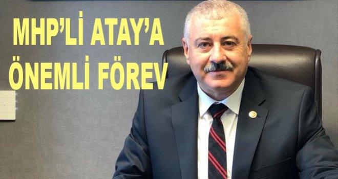 MHP Gaziantep Milletvekili Sermet Atay'a önemli görev…