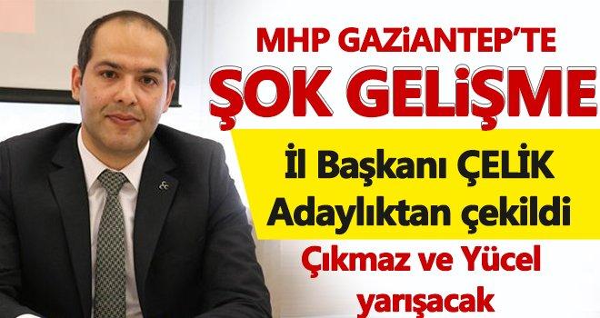 MHP Gaziantep'te seçim öncesi flaş gelişme: Adaylıktan çekildi