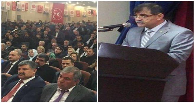 MHP Şehitkamil'de Aziz Yücel güven tazeledi