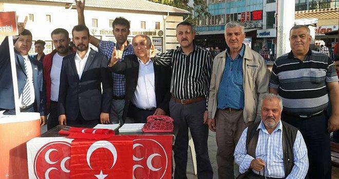 MHP, Balıklı'ya stand açtı