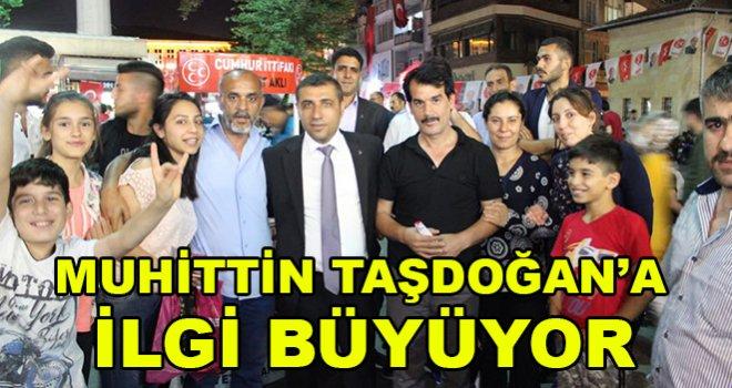 MHP'li Taşdoğan'a ilgi büyüyor