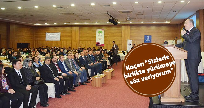 Milletvekili Koçer'den görmeyenlere tam destek