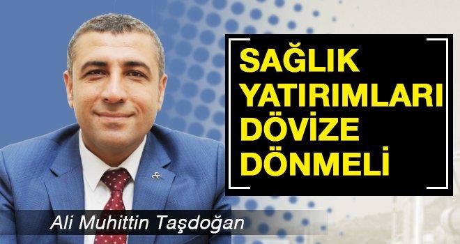 Milletvekili Taşdoğan'dan 'Denge' sözü