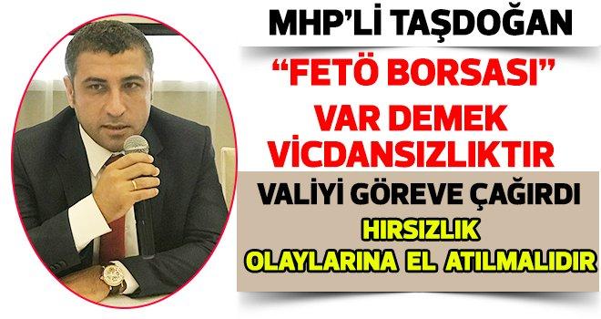 Milletvekili Taşdoğan'dan Flaş 'Yargı' açıklaması