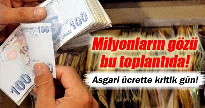 Milyonları ilgilendiriyor! Asgari ücrette kritik gün
