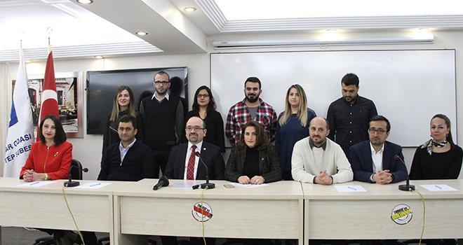 Mimarlar Odası Gaziantep Şubesi'nde görev dağılımı yapıldı
