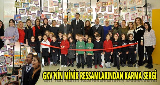 Minik GKV'lilerin resim sergisi
