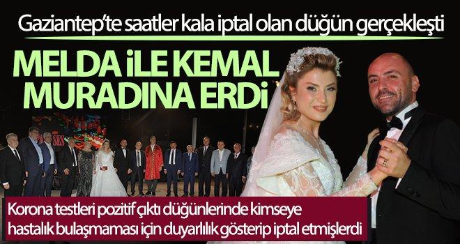 Muhteşem düğün ile dünya evine girdiler