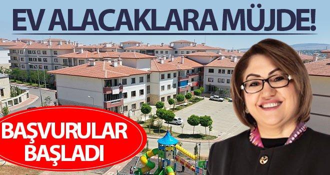 Müjde! Gaziantep'te 14 bin aile ev sahibi olacak...