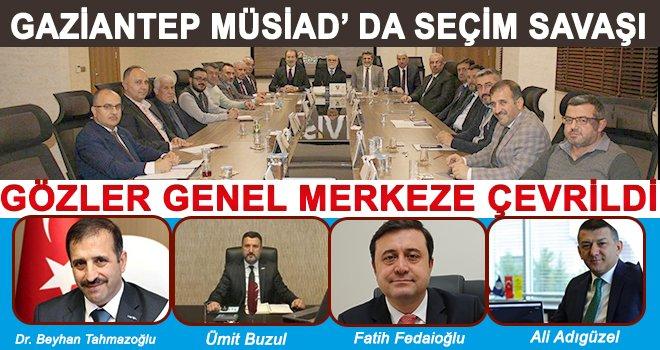 MÜSİAD Gaziantep başkanlık için heyecanlı yarış başladı