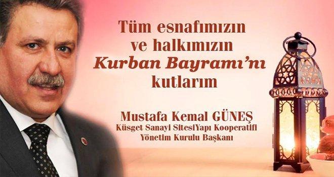 Mustafa Kemal Güneş'ten Kurban bayramı mesajı