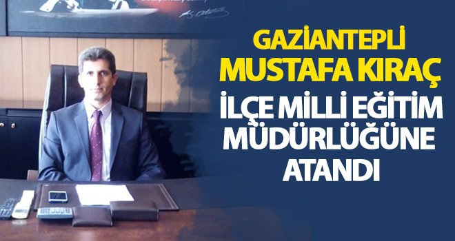 Mustafa Kıraç, görevine başladı