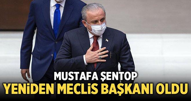 Mustafa Şentop, yeniden Meclis Başkanı seçildi