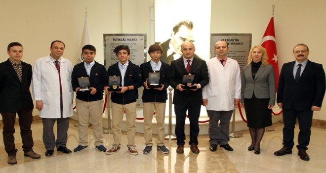 NASA Buluş Şenliği'nde 4 ödül birden kazandılar