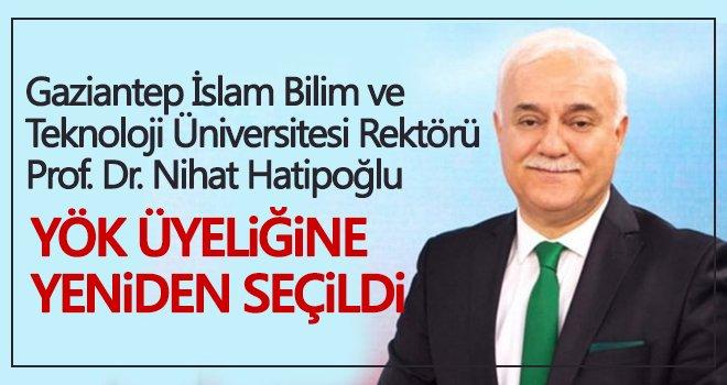 Nihat Hatipoğlu, YÖK üyeliğine yeniden seçildi...
