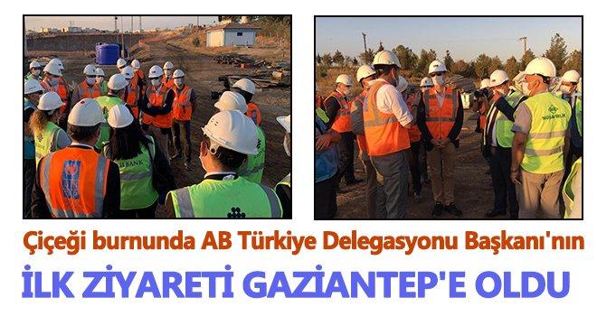 Nikolaus Meyer Landrut'in ilk ziyaretini Gaziantep'e yaptı...