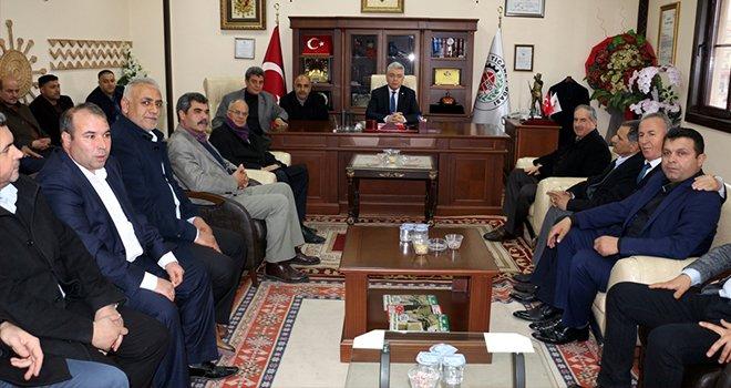 Nizip Belediye Başkan Adayı Mehmet Aslan'dan NTO'ya Ziyaret