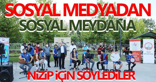 Nizip Belediyesi'nden 'Sosyal Medyadan Sosyal Meydana' projesi