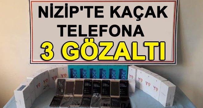 Nizip'te kaçak 37 cep telefonu ele geçirildi