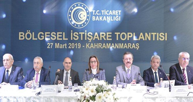 NTO Bölgesel İstişare Toplantısına Katıldı