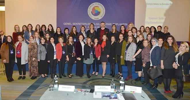 NTO genel sekreterleri bilgilendirme toplantısında